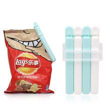 日本进口小号密封夹零食袋子食物茶叶奶粉防潮保鲜封口夹带吸盘