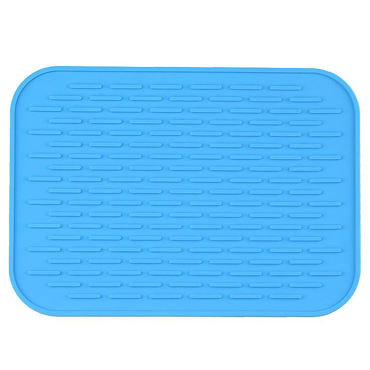 炫彩硅胶隔热餐垫欧式防烫家用锅垫餐桌垫沥水垫车载手机垫加厚款