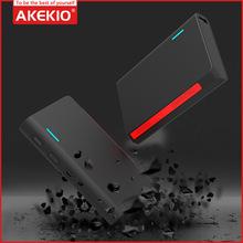 AKEKIO 新款qc3.0快充移动电源 双USB大容量手机充电宝礼品定制