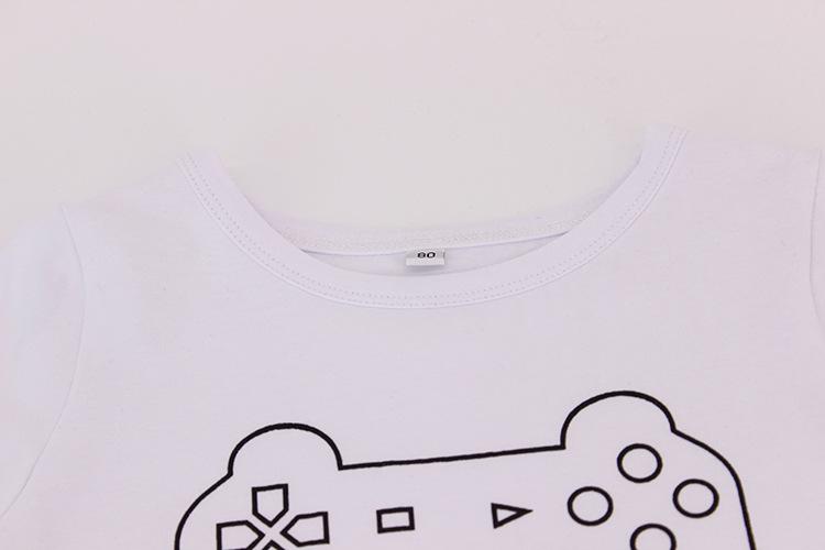 Fashion ClothT-shirt(White-M)NHAT0146-White-M