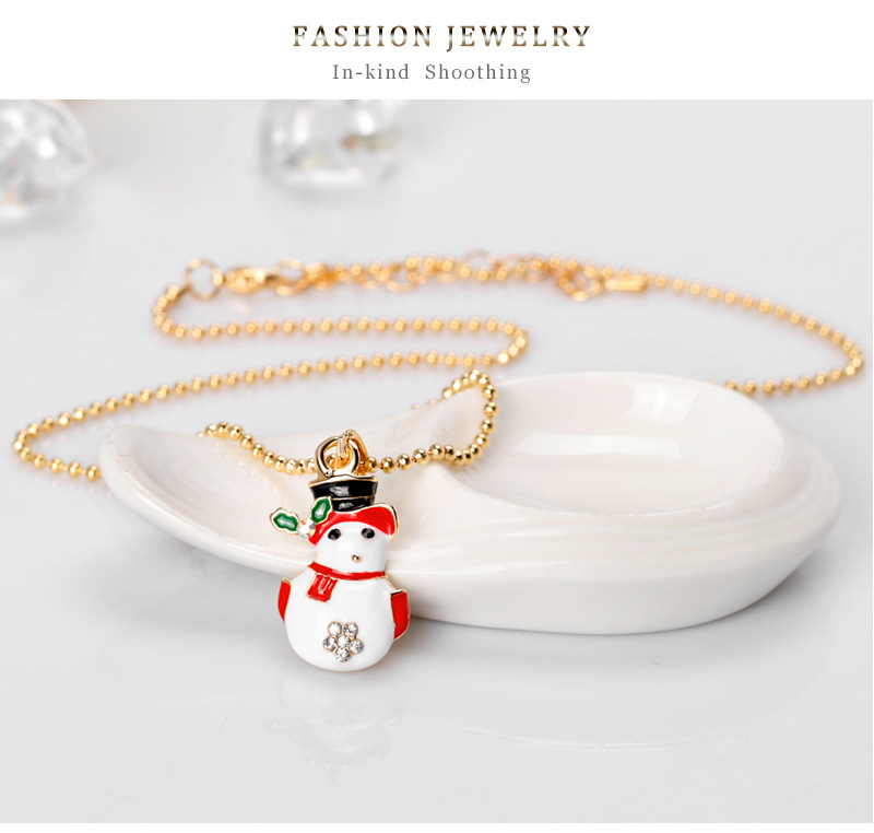 Korea style alloy plating necklace (CA117-A)NHDR1965-CA117-A