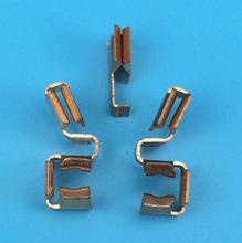 插座厂家直供五孔插座配件 插座散件排插散件金属铜片加工定制