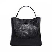皮居士品牌純皮女包2020新款時尚百搭女士包包女頭層牛皮手提包