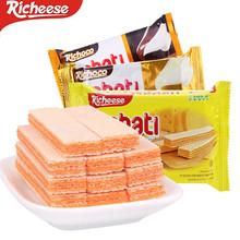 丽芝士58g奶酪味威化饼干丽巧克巧克力香草味威化饼干整箱包邮