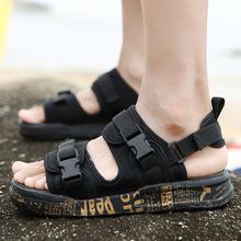 凉鞋夏季拖鞋男凉拖防滑沙滩韩版室外露趾越南鞋速卖通外贸批发