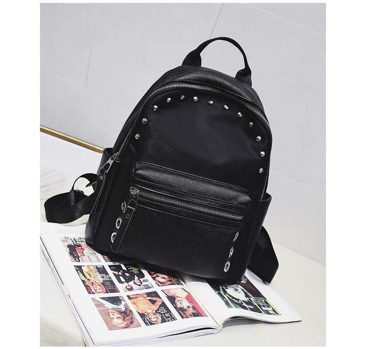 Korean version PUShoulder bag (black)NHPB0443-black