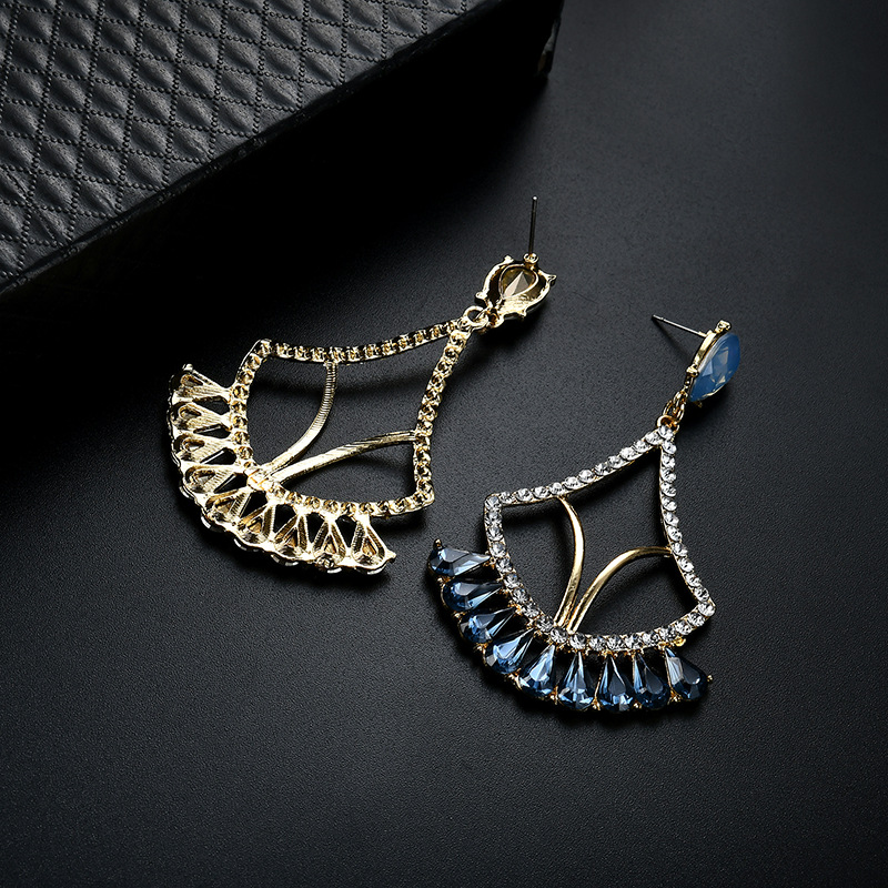 Occident and the United States alloy plating earring (61179391)NHLP0804-61179391