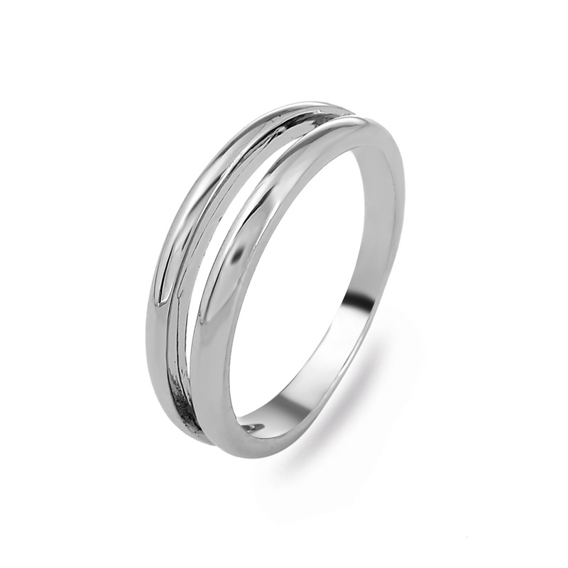 Fashion Alloy plating Rings Geometric (KC alloy -9)  NHKQ1449-KC alloy -9