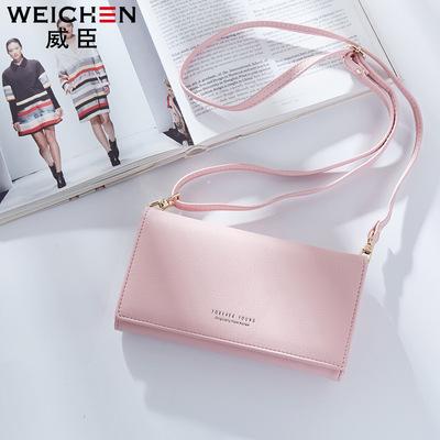 Wesson ly hợp túi ladies công suất lớn mãi mãi trẻ purse dài đơn giản túi Châu Âu và Hoa Kỳ vai túi