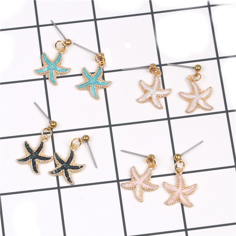 Alloy Fashion Geometric earring  (White earrings) NHYL0131-White-earrings