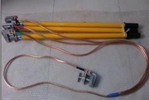 厂家直销XJ-10A型户内母排短路接地线 平口接电夹 长度可定做
