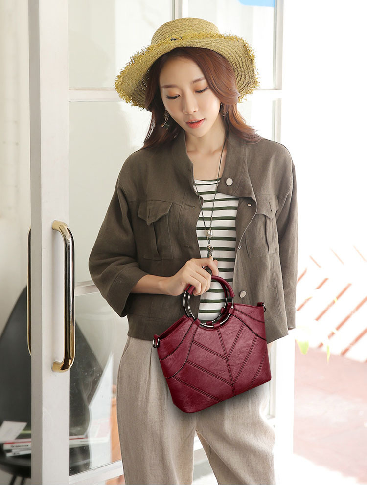 Korean version PUShoulder bag (Bronze)NHPB0337-Bronze