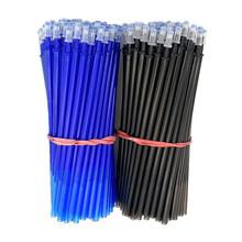 透明杆魔易擦笔芯可擦中性笔芯0.5mm全针管晶蓝黑色摩易消批发