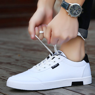 2017 new wholesale boys canvas shoes student white shoes tide breathable casual men factory outlets