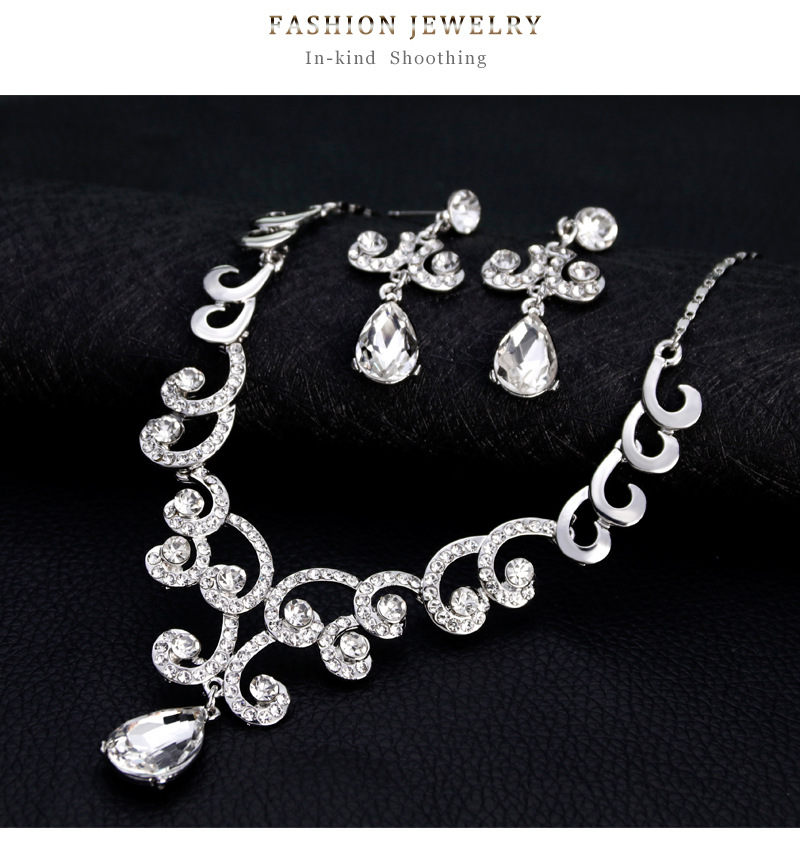 Fashion Alloy plating Jewelry Set  (Alloy)  NHDR2360-Alloy