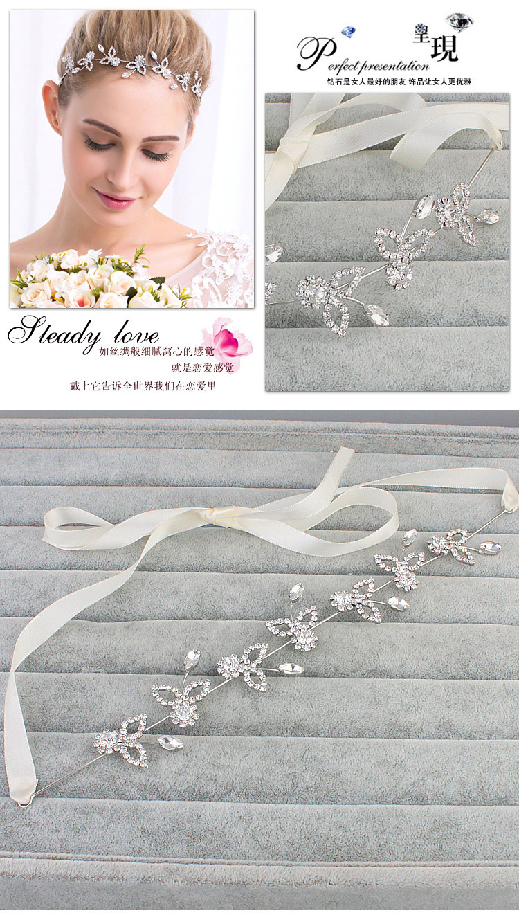 Alloy Fashion Geometric Hair accessories  (white) NHHS0252-white