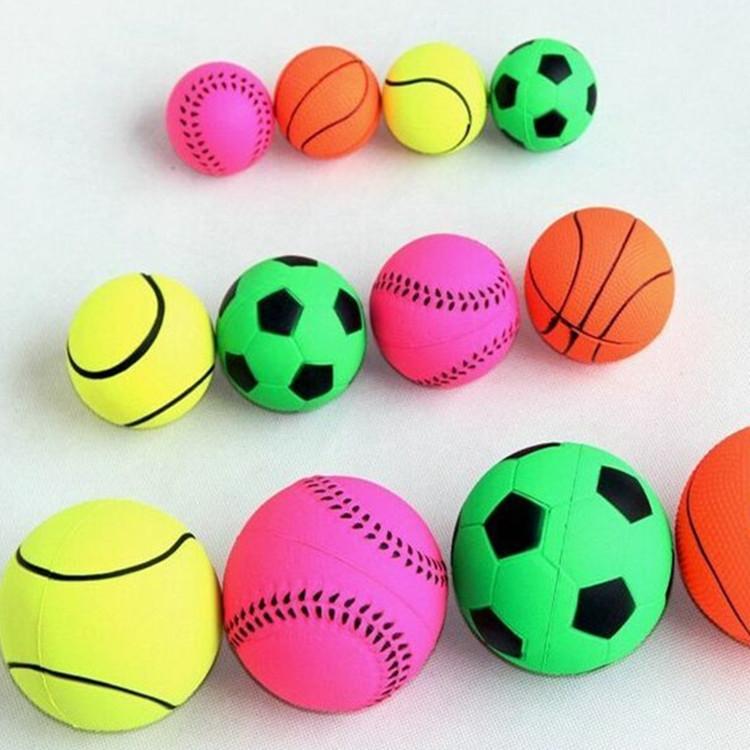 厂家直销6.3CM橡胶实心球   玩具球  宠物用品结实耐咬一手货源