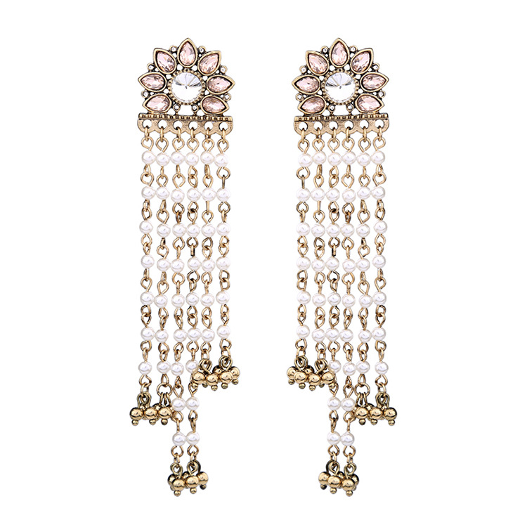 Occident and the United States alloy Diamond earring NHQD3995