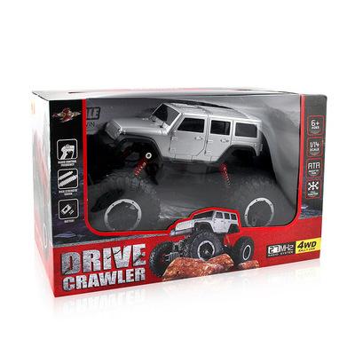 1:14 từ xa không dây sạc phiên bản leo jeep bốn bánh lái xe off-road điều khiển từ xa mô hình xe đồ chơi