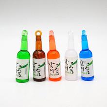 仿真韩式酒瓶吊坠 diy钥匙扣耳坠耳环挂件奶油手机壳精品饰品配件