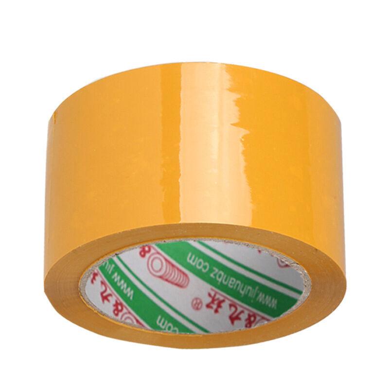 一口米 胶带黄色封箱胶带60*100*15mm透明打包胶带BOPP快递胶带