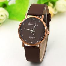 工廠新款超薄鑲鉆男女通用手表時尚學生禮品表石英表腕表廠家批發