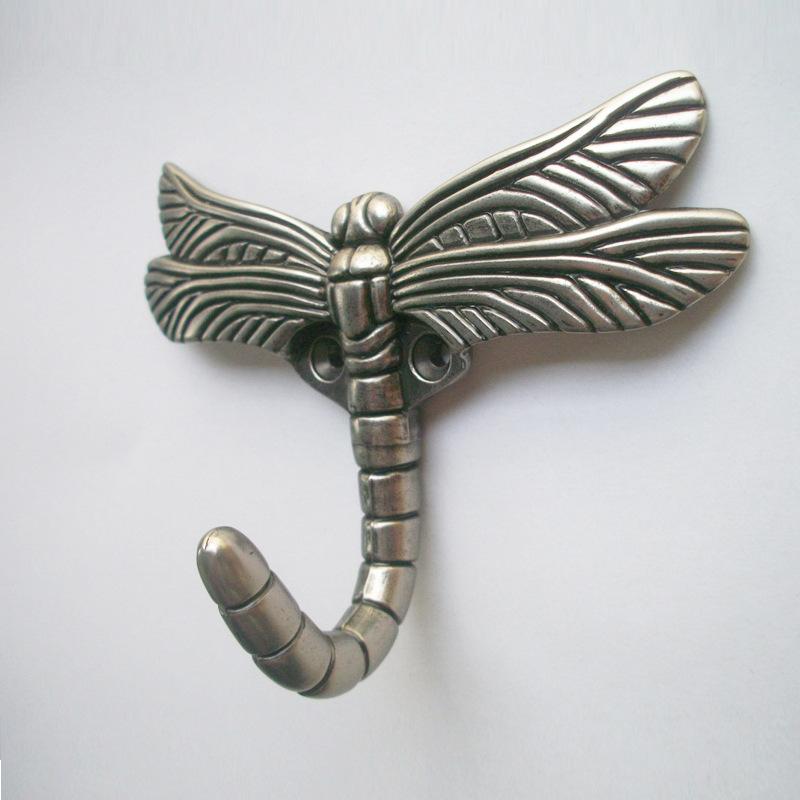 蜻蜓个性创意挂衣钩 衣服挂钩 壁挂 衣帽钩门后挂钩 墙上衣架挂钩