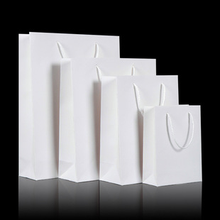 High-quality factory direct sale white card handbags various materials customization