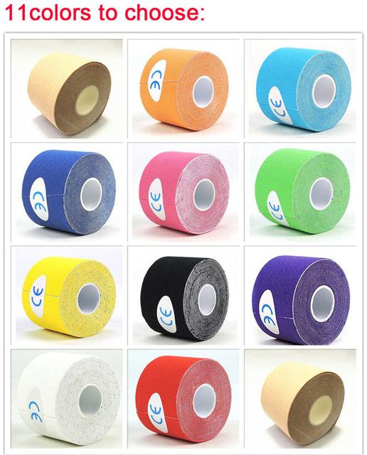现货出口防水肌肉贴胶布滑雪防冻贴肌内效贴布kinesiology tape