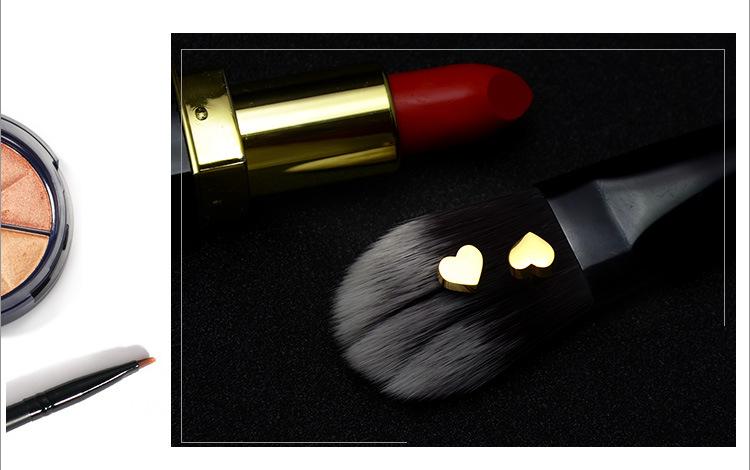 Titanium&Stainless Steel Korea Sweetheart earring(Rose gold) NHOK0108-Rose-gold