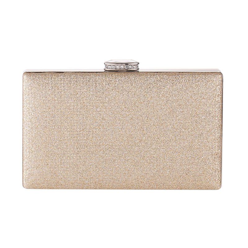 Simple evening party bag with diamonds fashion women's clutch NHYG176860