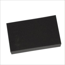 KTM CC100 Car Wash Sponge Polished Sponge Wax Sponge Porous Black Square Sponge D72-5