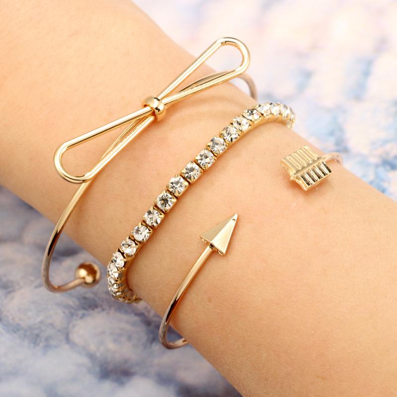 Fashion Alloy plating bracelet Geometric (Alloy)  NHGY0968-Alloy