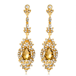 Exaggerated popular earrings jewelry in Europe and America