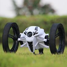 弹跳遥控汽车充电机器人特技翻滚跳跳四驱男孩赛车儿童玩具