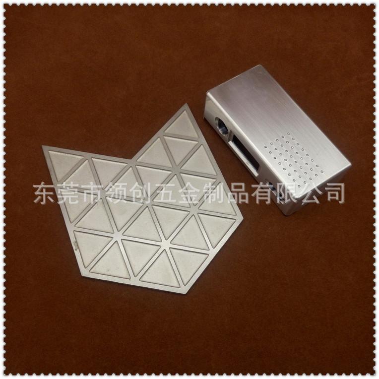 定做机械铭牌不锈钢面板 电子显示装饰面贴 阳极氧化铝片