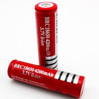 厂家直销18650锂电池 充电18650批发4200mAh可充电锂电池定制