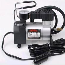 汽车金属充气泵 单缸快速迷你型车载轮胎冲气泵打气泵 保险礼品