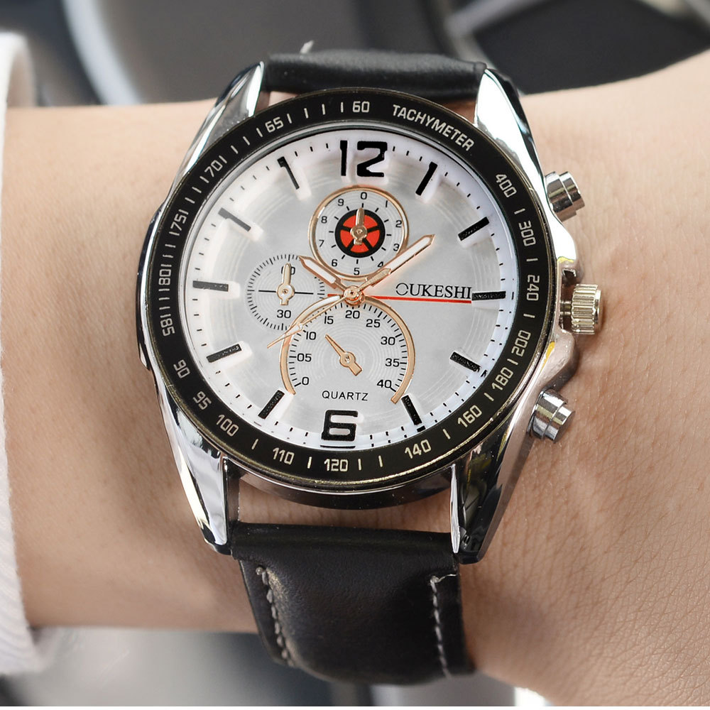 fashion Watch (12 - silver shell black)NHMM1717-12 - silver shell black