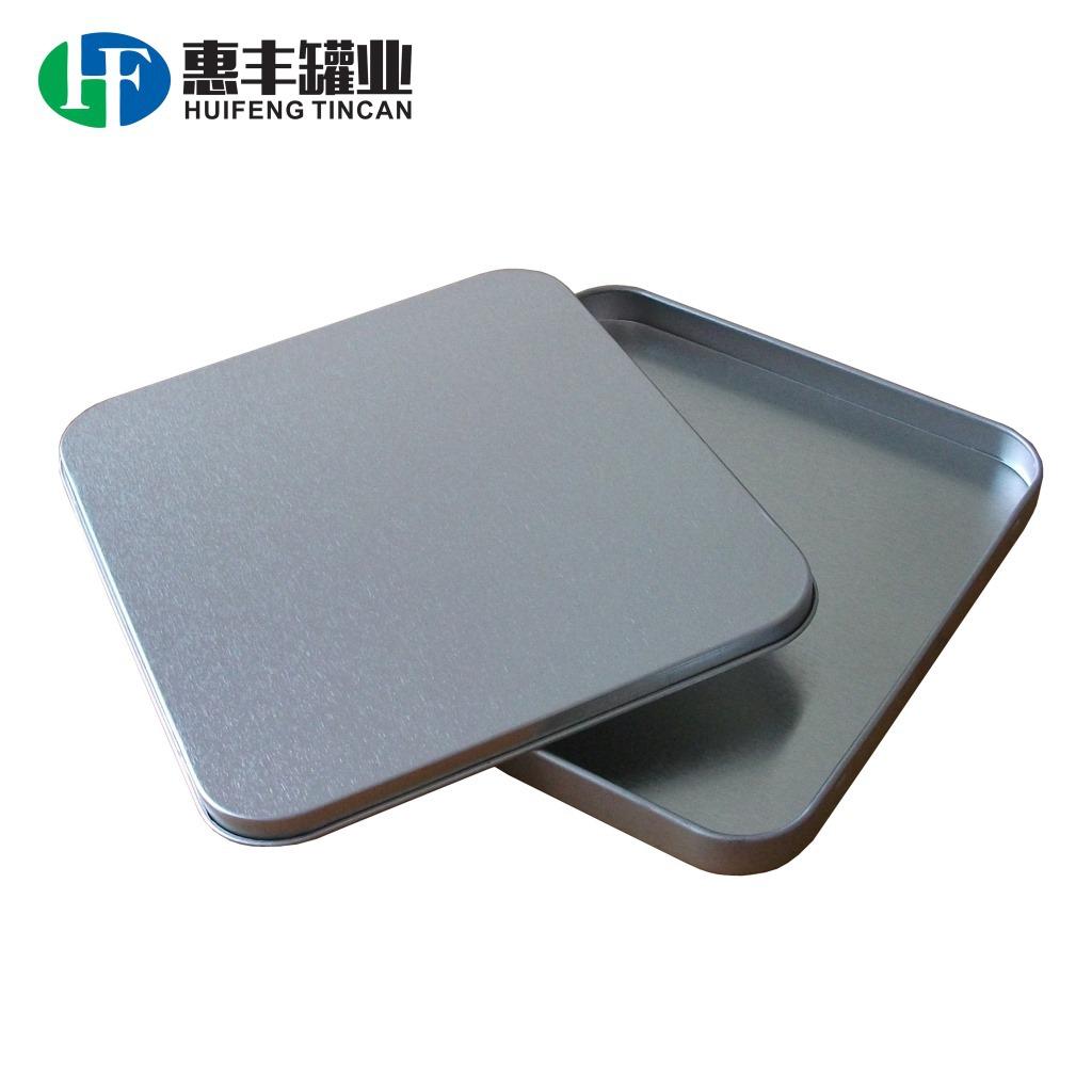 供应长方形CD铁盒 光碟马口铁盒 唱片碟包装铁盒 两片金属罐