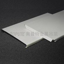 沖孔吸音條形鋁扣板 加油站吊頂材料S型防風條扣天花 鋁合金條板