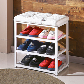 Shoe rack simple household economical dust-proof storage shelf multi-layer assembly simple modern dormitory small shoe cabinet