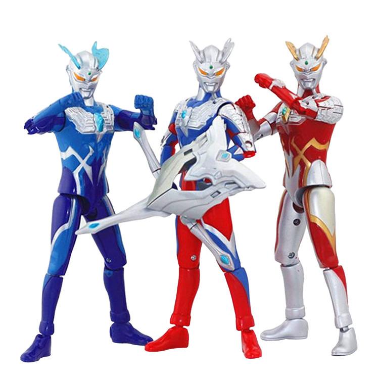 宇宙超人玩具套装  赛文泰罗人偶关节可动哥莫拉怪兽组合