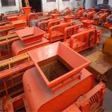 热销2PG-750*500型对辊破碎机 对辊挤压粉碎机 对辊砂石料碎石机