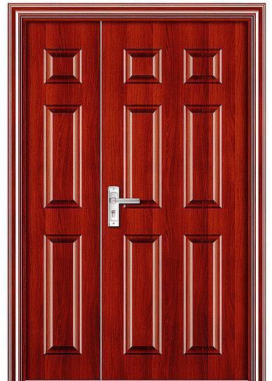 虹宇智能无锁无孔防盗门上门安装 防盗的好选择