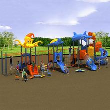 厂家批发儿童户外室外游乐园滑梯 环保塑料滑梯组合幼儿园滑梯