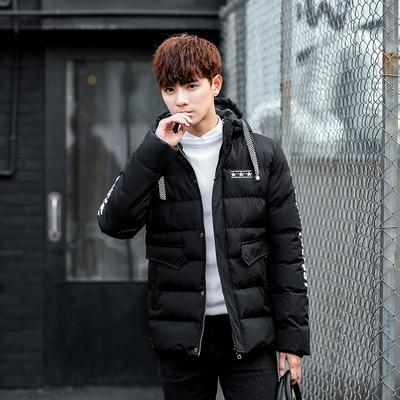 2017新款冬季三棵星男士棉衣中长款加厚青年棉服韩版外套潮男