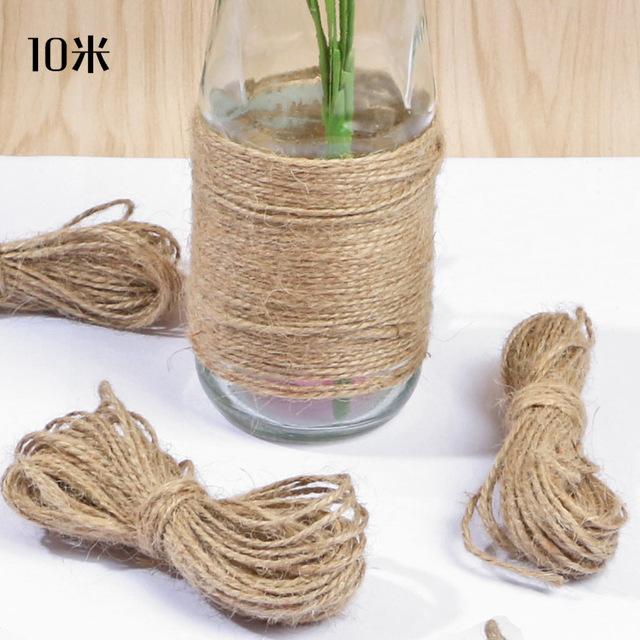 创意DIY辅料10m的价格装饰/夹照片生麻绳照片墙家居用品绳子