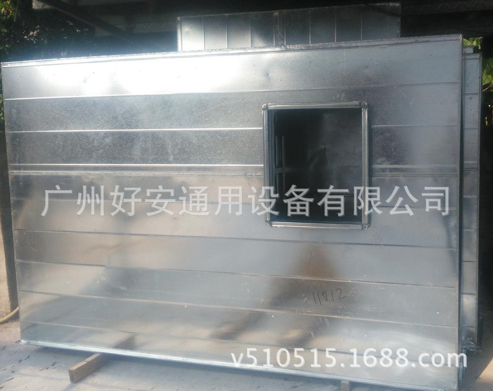 实力厂商直销实验室防火防腐无机玻璃钢消声器 防腐玻璃钢消声器