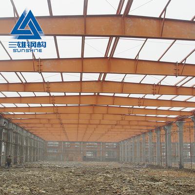 工业钢结构顶棚工程施工 钢结构大型公共场所房屋内部建设工程